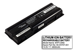 Fujitsu-Siemens Amilo Pa3515, Pa3553, Xa3530 használt 8 cellás 75%-os laptop akku/akkumulátor (BTP-C5K8)