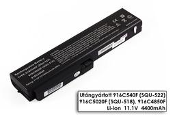 Fujitsu-Siemens Amilo Si1520, Pro V3205 helyettesítő új 6 cellás laptop akku/akkumulátor SQU-518