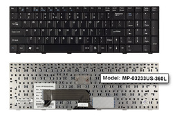 Fujitsu-Siemens Amilo Xa1546, Xi1546 gyári új US angol laptop billentyűzet (MP-03233US-360L)