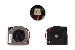 Fujitsu-Siemens LifeBook A3110, A6020, A6120, E8110, N6410, S7110, T2050, T4210, T5500 gyári új laptop hűtő ventilátor (MCF-S6055AM05B)