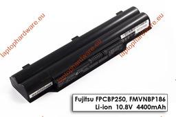Fujitsu-Siemens LifeBook A530, A531, AH530, AH531 használt 6 cellás 50%-os laptop akku/akkumulátor (FPCBP250)