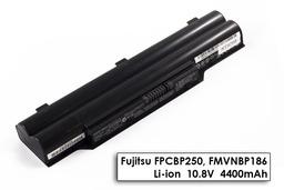 Fujitsu-Siemens LifeBook A532 laptop akkumulátor, gyári új, 6 cellás (4400mAh)