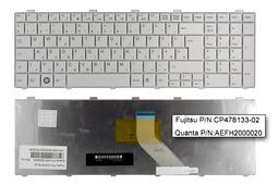 Fujitsu LifeBook A530 gyári új magyar fehér laptop billentyűzet (CP478133-02)