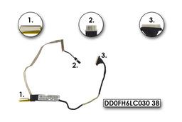 Fujitsu-Siemens LifeBook AH532 laptophoz gyári használt LCD kábel (DD0FH6LC030 3B)