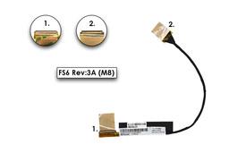 Fujitsu-Siemens LifeBook AH552 laptophoz gyári új LCD kábel (DD0FS6LC010, CP589407)