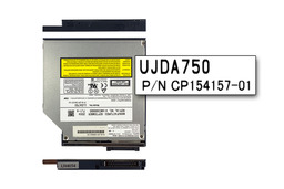 Fujitsu-Siemens LifeBook C1110, C1310, E2010, S6120 laptophoz használt Panasonic UJDA750 IDE CD-író DVD-olvasó combo (CP160602-01)