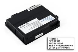 Fujitsu-Siemens Lifebook C1320, C1410 Új helyettesítő laptop akku/akkumulátor FPCBP115