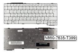 Fujitsu-Siemens LifeBook S710 fehér magyar laptop billentyűzet