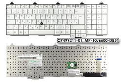 Fujitsu-Siemens LifeBook E751, E781 Celsius H720, H920 gyári új magyar fehér laptop billentyűzet (CP499211-01)