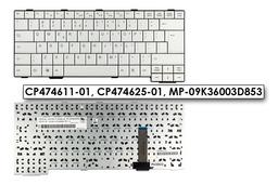 Fujitsu-Siemens LifeBook E751, S751, S760, S761 gyári új UK angol fehér laptop billentyűzet (CP474611-01)