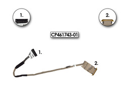 Fujitsu-Siemens LifeBook E780, Celsius H700 laptophoz használt LCD kábel (CP461743-01)
