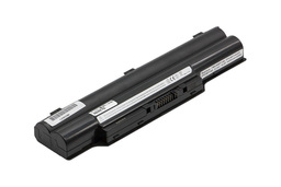 Fujitsu-Siemens LifeBook E781 laptop akkumulátor, új, gyárival megegyező minőségű helyettesítő, 6 cellás (4400mAh - 5200mAh)