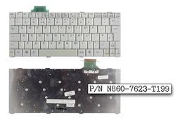 Fujitsu-Siemens LifeBook S6120, S6120D használt angol laptop billentyűzet (N860-7623-T199)