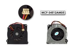 Fujitsu-Siemens LifeBook S6230, S6240, S7020, S7025, T4010D használt laptop hűtő ventilátor (MCF-S4512AM05)