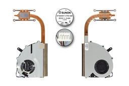 Fujitsu-Siemens LifeBook UH552, UH572 gyári új laptop hűtő ventilátor (CP574665-XX, 38020572)