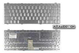 Gateway SA1 SA6 gyári új US angol ezüst laptop billentyűzet (AESA6E00110H)