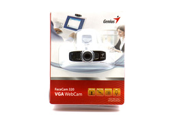 Genius FaceCam 320 USB-s webkamera beépített mikrofonnal