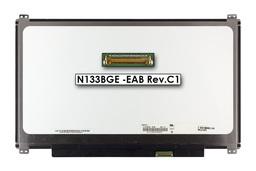 Gyári új matt 13.3'' HD (1366x768) LED laptop Slim kijelző (csatlakozó: 30 pin - jobb)