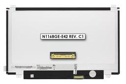 Gyári új fényes 11.6'' HD (1366x768) eDP LED laptop Slim kijelző (csatlakozó: 30 pin - jobb)