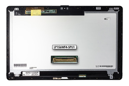 Gyári új fényes 15.6'' Full HD (1920x1080) LED SLIM kijelző modul Sony Vaio SVF15N laptophoz (LP156WF4-SPU1)
