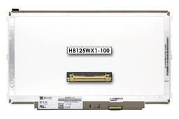 Gyári új matt 12.5'' HD (1366x768) eDP LED laptop Slim kijelző (csatlakozó: 30 pin - jobb)