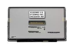 Gyári új matt 12.5'' HD (1366x768) LED laptop Slim kijelző (csatlakozó: 40 pin - jobb)