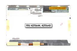 Gyári új matt 15.4'' (1280x800) LED kijelző Lenovo ThinkPad SL500, SL500C laptopokhoz (csatlakozó: 30 pin jobb felül) (LTN154AT12-401, FRU 42T0644)