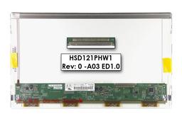Gyári új fényes 12.1'' HD (1366x768) LED laptop kijelző (csatlakozó: 30 pin - jobb)