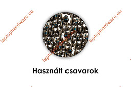 Asus EEEPC 1005HA, 1001HAG, 1001HA, 1005HAB, 1005HAG, 1005HR, SUPER10A használt csavarok, screws