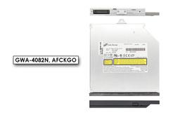 Hitachi-LG használt IDE (PATA) laptop DVD-író előlappal Fujitsu-Siemens laptopokhoz (GWA-4082N)