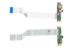 HP 15-F, Pavilion 15-N sorozatú laptophoz használt USB/Audio panel kábellel (34U83UB0010, 737043-001, DA0U83TB6E0)