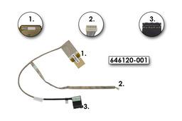 HP 2000, 630 gyári új LCD kábel, 646120-001