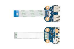HP 250 G1, 255 G1, Compaq Presario CQ58 gyári új laptop USB panel kábellel (689687-001)