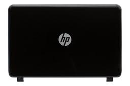 HP 250 G3, 15-G, 15-R (nem Touchscreen kijelzős) sorozatú laptophoz gyári új fényes fekete LCD hátlap (761695-001)
