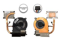 HP 450, 250 G1 használt laptop komplett hűtő ventilátor egység (685086-001, KSB06105HB BM51)