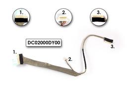 HP 500, 510, 520, 530 14'' Gyári Új LCD kijelző szalagkábel