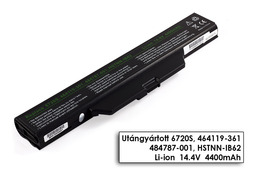 HP 550, 6720s, 6730s, 6820s, 6830s helyettesítő új 8 cellás laptop akku/akkumulátor (HSTNN-OB51, HSTNN-IB51)
