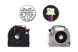 HP 550, 6720s, nx6310 használt laptop hűtő ventilátor (Panasonic UDQFRPH53C1N)