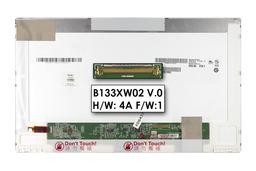HP AUO B133XW02 V.0 HD LED használt fényes kijelző, SPS 588160-001