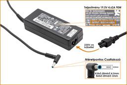 HP Pavilion 15-n265 19,5V 4,62A 90W-os laptop töltő