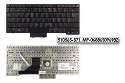 HP Compaq 2510p, 2530p, EliteBook 2530p használt svéd/finn laptop billentyűzet SPS 510565-B71
