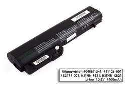 HP Compaq 2510p, 2530p, nc2400 helyettesítő új 6 cellás laptop akku/akkumulátor (HSTNN-DB21)