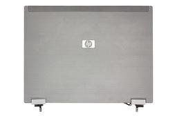 HP Compaq 2530p laptophoz használt LCD hátlap zsanérokkal (AM045000300, 586365-001)