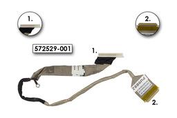 HP Compaq 610, 615 laptophoz használt Kijelző kábel, 572529-001, 572530-001
