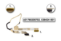 HP Compaq 610, 615 laptophoz használt Kijelző kábel WXGA (6017B0200702)