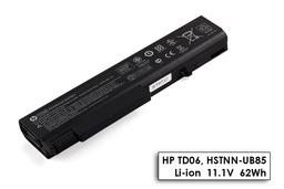 HP EliteBook 8440p laptop akkumulátor, gyári új, 6 cellás (5225mAh)