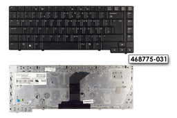 HP Compaq 6530b, 6535b használt UK angol billentyűzet, 468775-031