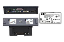 HP Compaq 6710b, 6910p, 8510w, 8710p gyári új laptop dokkoló állomás adapterrel (HSTNN-IX01, 449720-001, EN488AA)