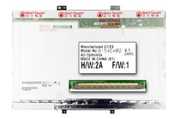 AUO B154EW02 V.1 WXGA 1280x800  használt fényes notebook kijelző