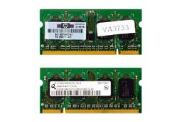 Qimonda 512MB DDR2 667MHz használt memória HP laptopokhoz